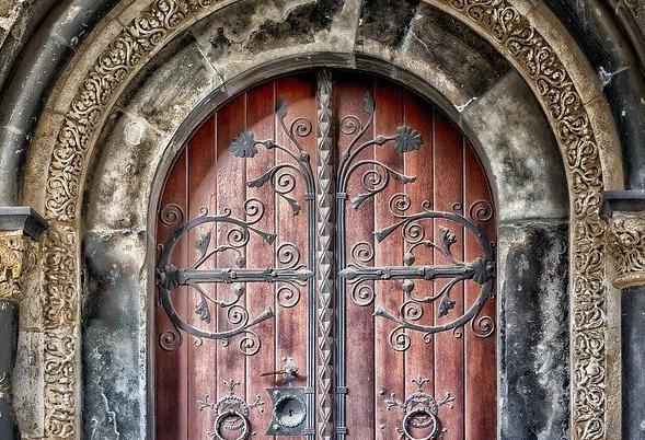 Porte d'Entrée Blindée à Vaux-le-pénil pour maison